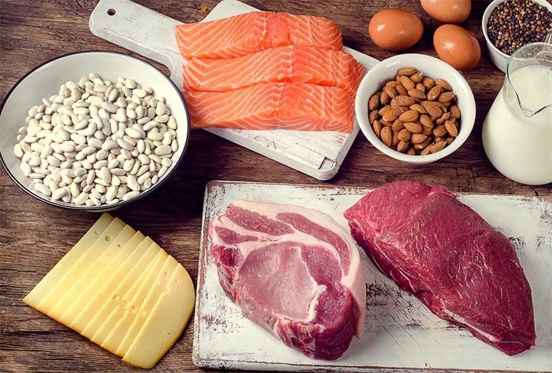 proteiny na diecie dukana