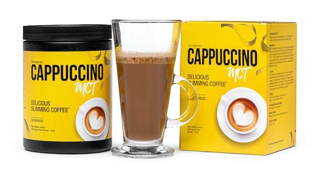 Cappuccino MCT wspomaga odchudzanie