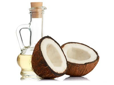 olej mct, olej kokosowy